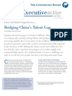 Bridging China's Talent Gap