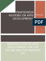 SynapseIndia Reviews on Apps Development