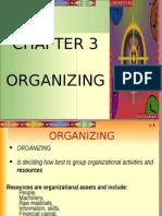 Organizing Chapter 3