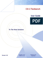 CSI-2 Testbench User Guide 1 02