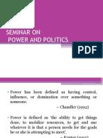 Power and Politics Ppt