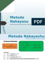 Metode Nakayasu