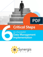 6 Steps to Implementing Data Managemen Final