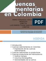 Cuencas sedimentarias en Colombia