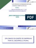 Las Megatendencias y los Agronegocios en México (VCT)