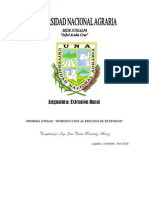 I Unidad Marco Conceptual Extension Rural