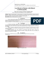 Use of Airway Blocks in Patients with Dilated Cardiomyopathy