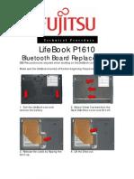 Fujitsu P1610 Bluetooth Board