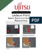 Fujitsu Fujitsu P1610_System Board and Heat Sink