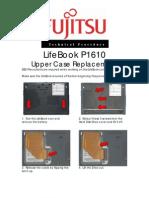 Fujitsu P1610 Upper Case