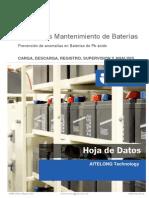 soluciones mantenimiento baterias