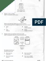 Percubaan UPSR 2015 - Muar - Sains Bahagian A