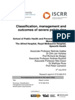 026 Classification, management and outcomes of severe pelvic ring fractures