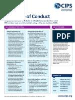 CIPS Code of Conductv2 10-9-2013