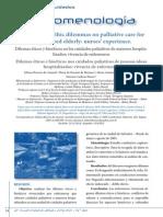 Dilemas Eticos en Cuidados Paliativos Geriatricos