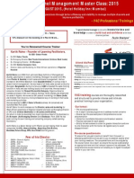 Effective Channel Management MasterClass 2015 Final
