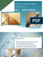 escaleras descripción y tipos