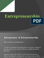 Lecture PPT Entrepreneurship