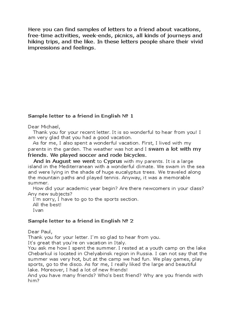 Sample Letter To Friend from imgv2-2-f.scribdassets.com