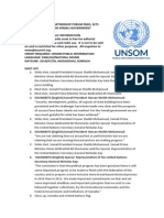 HIGH LEVEL PARTNERSHIP FORUM ENDS, SETS CRUCIAL TIMELINES FOR SOMALI GOVERNMENT