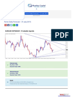 Forex Daily Forcast 31 July 2015 Bluemaxcapital