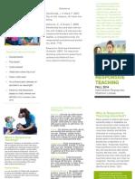 responsive teaching handout
