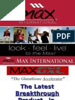 MAXGXL Product