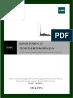 Guía Parte II Técnicas Experimentales IV-2015