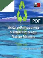 Metodo de dimensionamento de reservatório de água