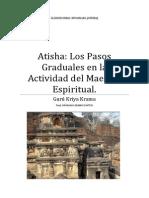Atisha Los Pasos Graduales en La Actividad Del Maestro Espiritual.