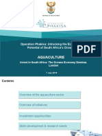 Overview of the aquaculture sector