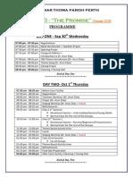 VBS2015 Program