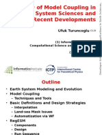 Overview of Model Coupling in Earth System Sciences and Recent Developments