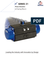 Rack and Pinion Acutators