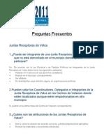 Preguntas Frecuentes, Elecciones 2011 - TSE de Guatemala
