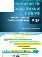 Taller de Prevencion de Abuso Sexual Infantil