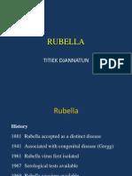Rubella Rubeola