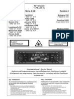 Blaupunkt c32, c52, Cd32, Cd52, Dj32, Dj52 Service Manual