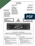 Blaupunkt c32, c52, Cd32, Cd52, Dj32, Dj52 Service Manual