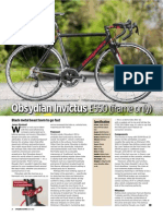 Obsydian Invictus Review- Cycling Active