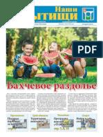 """Газета """"Наши Мытищи"""" №29(254) от 01.08.2015"""