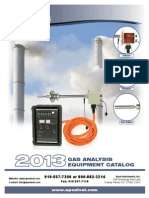 Gas Analysis 2013 Catalog 9-8-13 NP