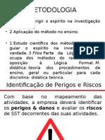 Metodologia aplicada PPRA