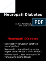 Neuropati Diabetes - Gea Pandhita