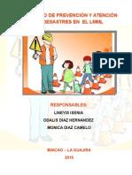 Proyecto de Prevencion de Desastres
