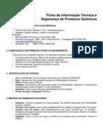 FISPQ - Ficha de Informação Técnica e Segurança de Produtos Químicos - Hose Pump Oil - REV 02-2015 (2)