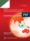 Buletin Statistik Perdagangan Luar Negeri Ekspor Menurut Komoditi HS Januari 2015