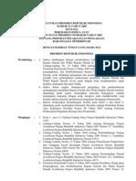 Peraturan Presiden Republik Indonesia Nomor 32 Tahun
