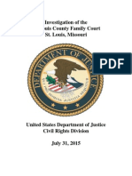7.31.15 St. Louis County Family Court Findings Report