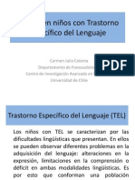 Coloma C. - Lectura en Ninos Con Trastorno Especifico Del Lenguaje 01